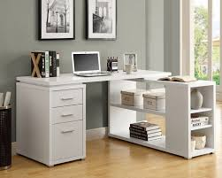 perfect l shaped desk with hutch home office to apply wondrous white drawers installed in
