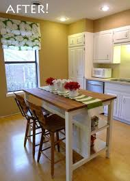 Charming Mobile Kitchen Island With Seating And Storage Possibly 4 Seats   2 In Back  U0026 1 On Each End?