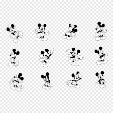 Mickey Mouse Minnie Mouse graphics, michey Mouse, logo, monochrome png