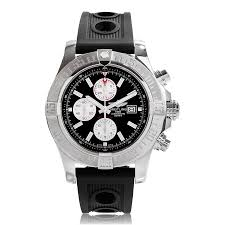mens breitling watches the watch gallery breitling super avenger 11 black automatic mens watch a1337111 bc29 201s