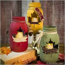 Decorate Jar Candles Maple Leaf Mason Jar Mason Jar Crafts Love 65