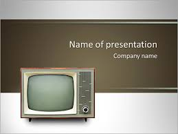 tv powerpoint templates vintage tv set isolated clipping path included powerpoint