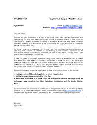 Ideas Collection Lead Animator Cover Letter In 3d Animator Cover