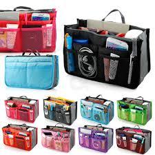 handbag organizer multi bag purse bag in bag high quality cosmetic bag makeup bag