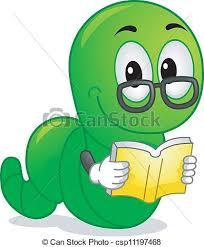 bookworm mascot csp11197468