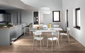 CREAM TABLE square wooden extending table - Calligaris CS/4063-Q