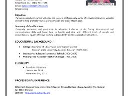 How To Write Resume For Part Time Job Cover Letterication Make