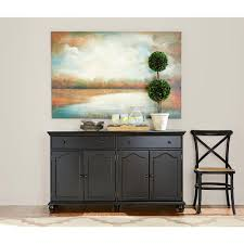 Small Picture Home Decorators Collection Harwick Black Buffet 5442100210 The