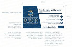 business card office business card international burch university