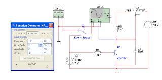отчет по схем  2 2 Собрать схему в multisim показанную на рис 4 исследовать работу ГПН со стабилизатором тока