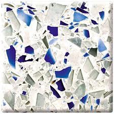 recycled glass countertops home depot 8 quartz colors blue representation portrayal