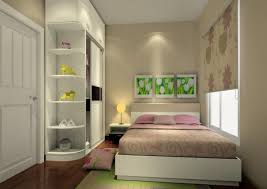 Small Bedroom White Furniture Design