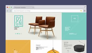 40 Free PSD Website Templates For Corporate Education LMS Blog Awesome Furniture Website Design