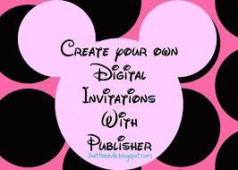 Free Minnie Mouse Invitation Template Simple Free Editable Minnie