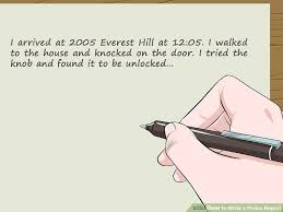 How To Write A Police Report Step By Step Guide Sample