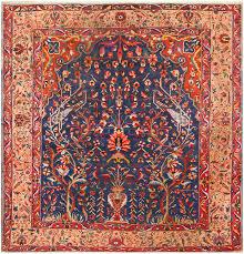 antique persian bakhtiari rug 48004 nazmiyal