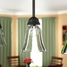 seeded glass shade seeded 5 glass bell pendant shade seeded glass shades for ceiling fan
