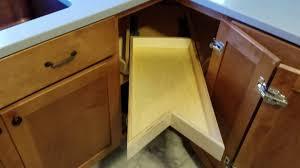 Kitchen Cabinet Lazy Susan Alternative Youtube