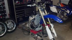 wr450 de restriction and conversion to yz spec street legal machine as any new bike one thing that gets overlooked is the steering head bearings and the swingarm linkage they do not come adequately greased if at all