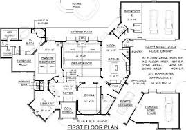Home Design  House Floor Plan Blueprint Two Story Plans Blueprints For A House