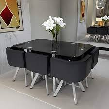 perfect dining table for 6 feifeiyo black gl set round 1 x and chair dimension 8 person seater