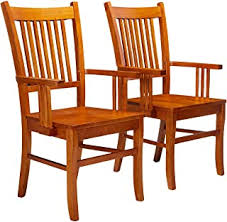 Kitchen & Dining Room Chairs - Dining Arm Chair ... - Amazon.com