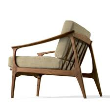 amaya vintage wooden armchair with cushions