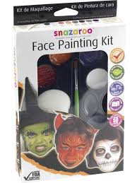 the snazaroo face painting kit is