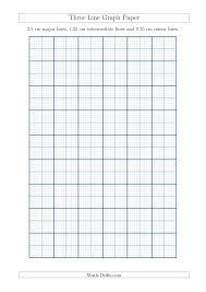 Blank Graph Math Printable Graph Paper Black Lines 1 Inch Graph