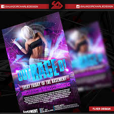 Nightclub Flyer Design – Salvador Charlie Design
