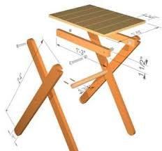 Create a clever system that will allow you to fold your coffee table when needed. The Runnerduck Folding Table Step By Step Instructions Folding Table Diy Craft Table Diy Diy Table