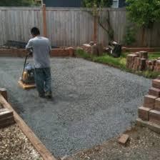 paver patio brock base installation level  base installation level brock middot how to build a paver patio for i
