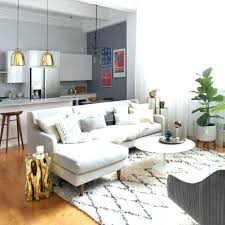 modern furniture small apartments. Furniture For Small Apartment With Modern Open Kitchen And Living Room Also One Apartments O