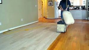cost to sand and refinish wood floors average