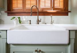 kohler farm sink with dining kitchen cool ways to install farmhouse sinks your dream idea 19