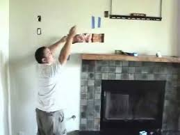 hide install tv above fireplace pt 7 install cables