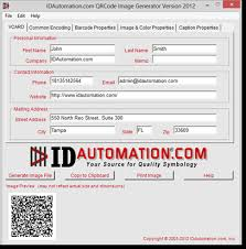 Url Encoding Chart Qr Code 2d Barcode Image Generator With Vcard And Url Encoding