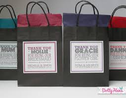 personalized wedding gift bags. Simple Gift In Personalized Wedding Gift Bags Z