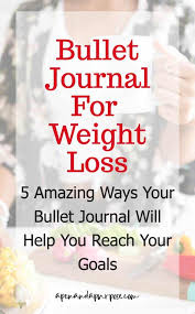 5 Amazing Ways Your Bullet Journal Will Help With Weight Loss