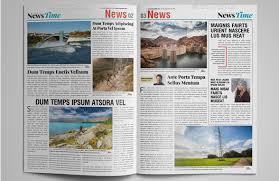 Where Can I Find A Newspaper Template 15 Best Indesign Newspaper Templates 2016 Designssave Com