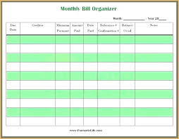 Free Printable Bill Payment Schedule Payment Tracker Excel Template Bill Pay Calendar Template