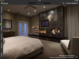 Master Bedroom Fireplace With Feature Wall Tv And Fireplace Bedroom To Dream About