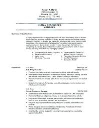 Example Of A Military Resume Army Resume Example Army Resume Example