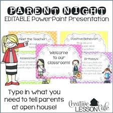 Open House Powerpoint Hool Open House Template Flyer Unique Fresh Templates Middle