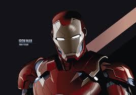 Iron Man 3840×2700 Tony Stark Minimal ...