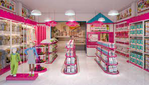 Thiết kế nội thất shop mẹ và bé Anh Đức-Bắc Giang