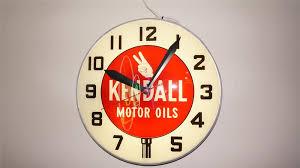over sized kendall motor oil 1950