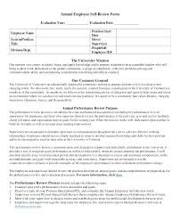 Sample Annual Performance Review Performance Review Template Examples