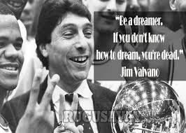 Jim Valvano Quotes Classy Never Give Up Jim Valvano Quotes On QuotesTopics