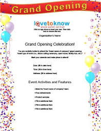 Free Grand Opening Flyer Template Grand Opening Flyer Template Free Ktunesound
